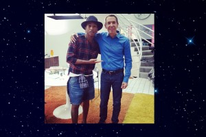 Jeff Koons and Pharrell Williams - Out Of This World