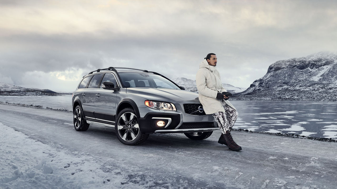 Volvo X Zlatan = Made by Sweden
